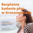 Bezpłatne badania płuc w Krzeszowicach