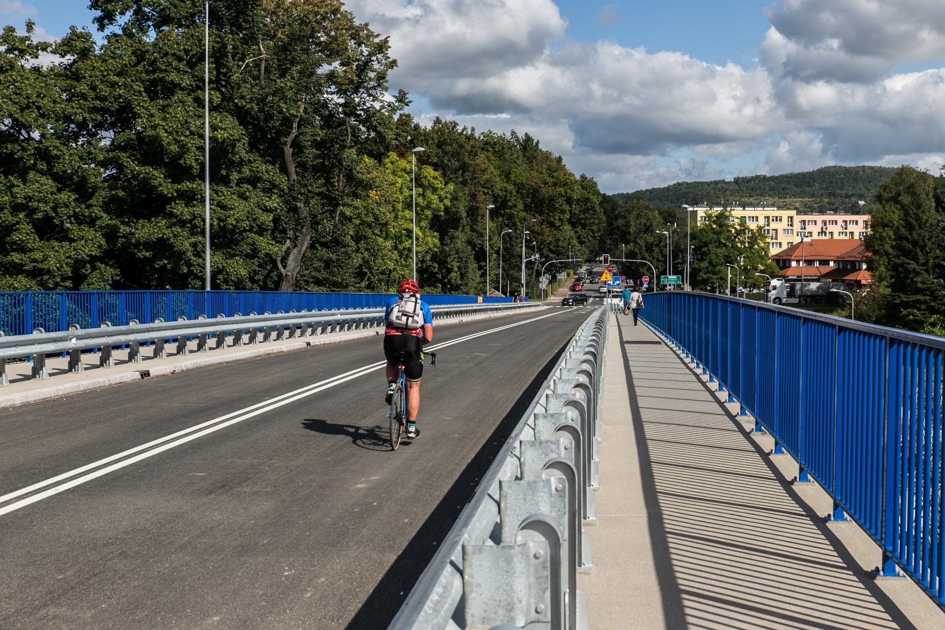 Nowy wiadukt w Krzeszowicach